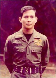 Prabowo saat berpangkat Kapten. [sumber:©facebook/prabowo subianto]